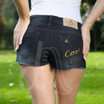 Stile D'Oro Denim Hot Pants
