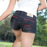 Stile Rosso Denim Hot Pants