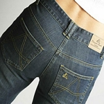 Classic Blue Straight Cut Womens Jeans