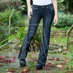 Stile D'Oro Boot Cut Womens Jeans