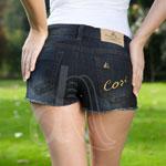 Stile D'Oro Denim Hot Pants